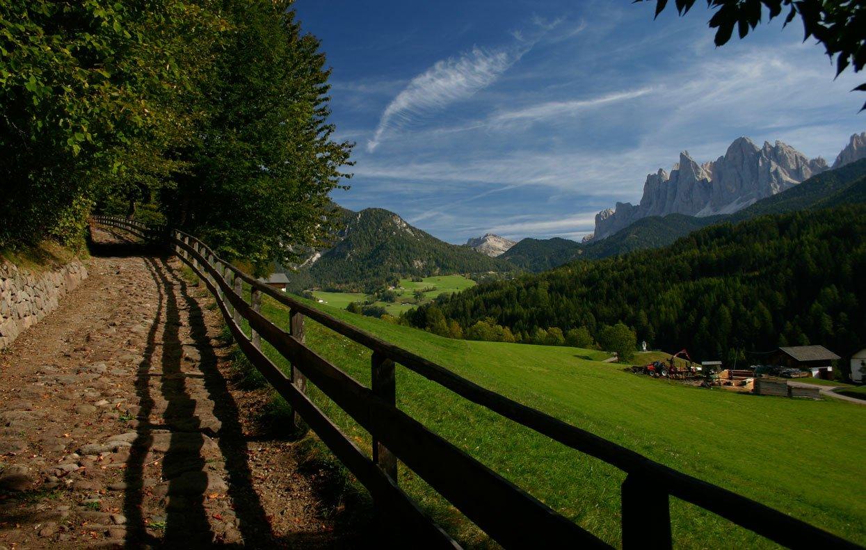 In Val di Funes scoprirete il segreto delle montagne