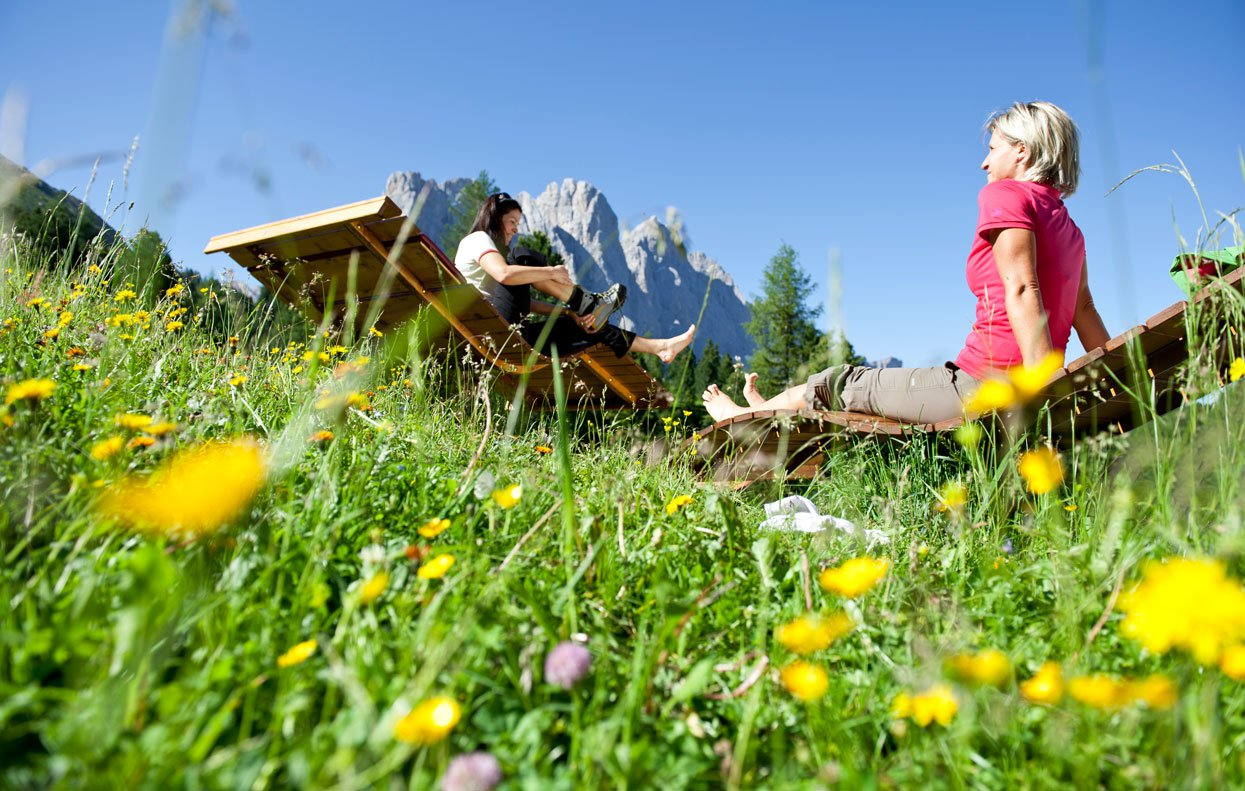 Holiday in the Funes valley: pure nature!