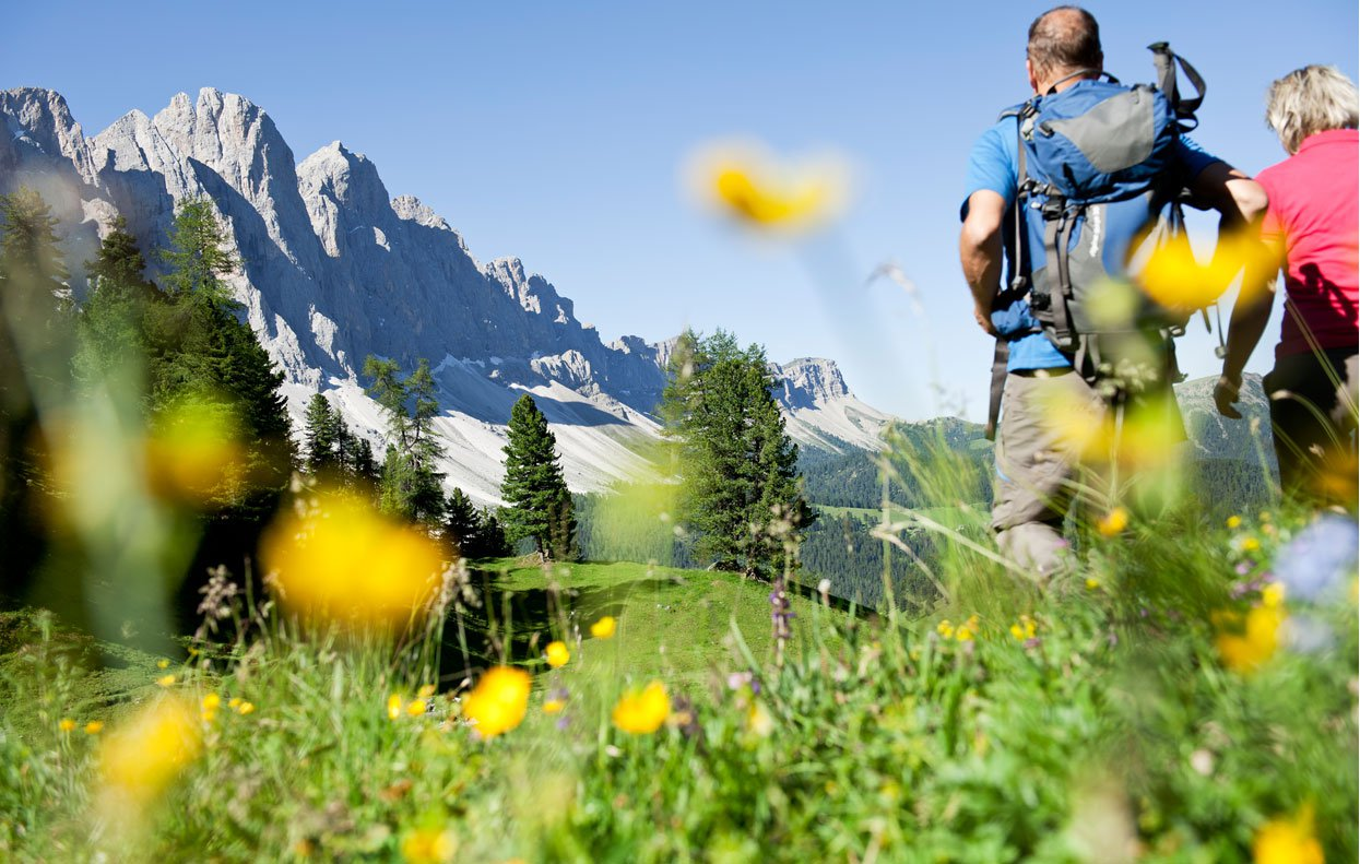 A hiking-holiday in the Dolomites