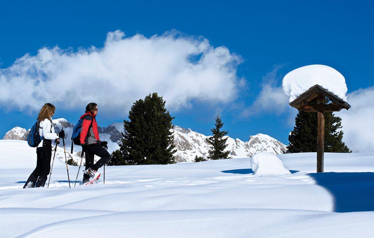 Schneeschuhwandern in Villnöss und Skitouren für Schneeliebhaber