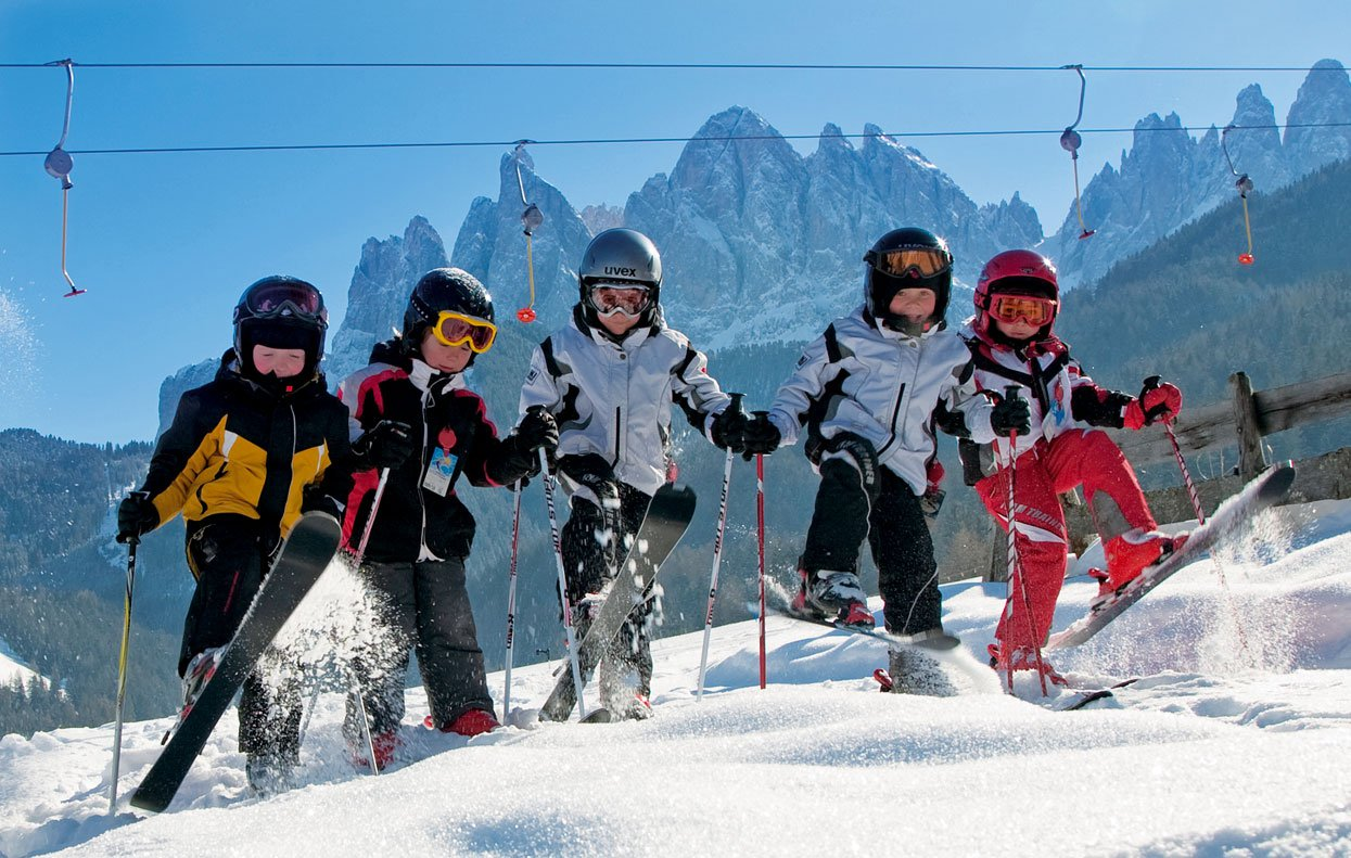 Winter-holidays in the Dolomites