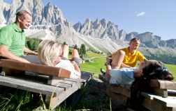 Hiking-holiday in the Dolomites 1